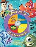Disney, Pixar CD Storybook (4-In-1 Disney Audio CD Storybooks) [Hardcover]