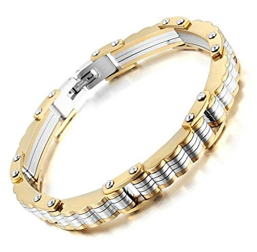 bracelet-deux-ton-bracelet-massif-vague-forme-charme-style-aooaz-acier-inoxydable-hommes