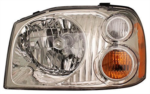 Nissan Frontier Headlight - Left Head Lamp XE (2003 Nissan Frontier Xe compare prices)