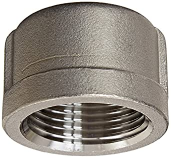Stainless Steel 316 Cast Pipe Fitting, Cap, Class 150, NPT Female