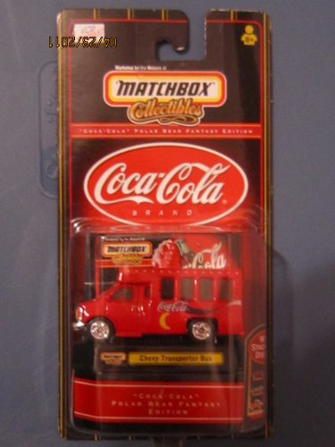 Matchbox Collectibles - Coca-Cola Chevy Transporter Bus 1:64 Scale - 1