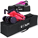 iSafe Stroller Travel Holiday Storage Case Bag Cosatto, Chicco, ZeTA, oBaby, Mamas And Papas, Maclaren, Tippitoes - Universal Buggy Stroller Bag