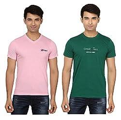 Strak Cotton Men's Casual T-Shirt (STR2060_XXL)