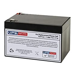 12V 7Ah Compatible Replacement Battery for CPS720VA by UPS Battery Center