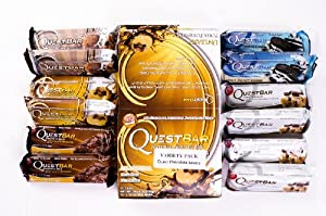 Quest Nutrition Protein Bar - Chocolate Lovers Variety Box of 12
