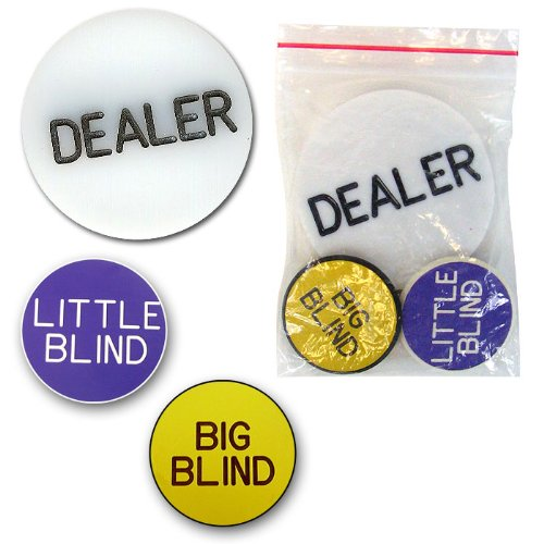 Cheapest Price! Trademark Poker Dealer Button Set