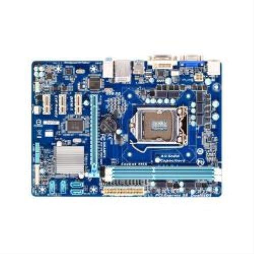Gigabyte GA-H61MA-D2V Motherboard Core i3/i5/i7/Celeron/Pentium Socket 1155 Intel H61 Express mATX Gigabit LAN (rev. 2.0) (GA-H61MA-D2V)