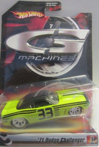 G Machines '71 Dodge Challenger #1/11 - 1:50 Scale (2006)
