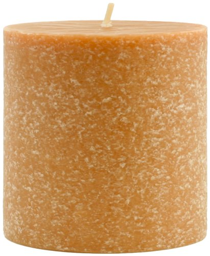 Root Candles Scented Timberline Pillar Candle, 3-Inch by 3-Inch Tall, Mulled Cider