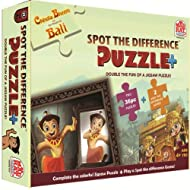 Chhota Bheem -Spot the Difference Puzzle + Game