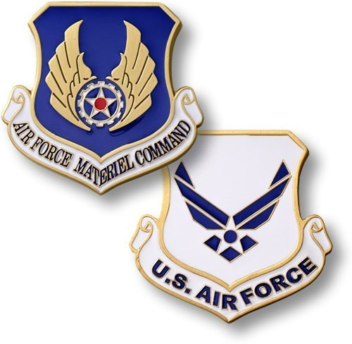 Air Force Materiel Command Enamel - 1