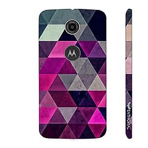 Motorola Moto E (2nd gen) Pink Promenade designer mobile hard shell case by Enthopia