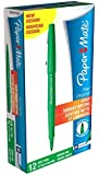 Paper Mate Flair Original Fibre-Tip Pen - Green (Pack of 12)