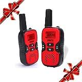 UOKOO Kids Walkie Talkies, 22 Channel FRS/GMRS 2 Way Radio 2 Miles (up To 3.7 Miles) UHF Handheld Walkie Talkies...
