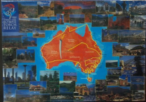 Sydney 2000 Olympic Torch Relay Puzzle by Mattel
