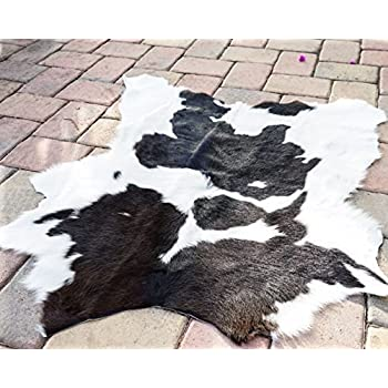 Panda Hairy Rodeo Cowhides Rug