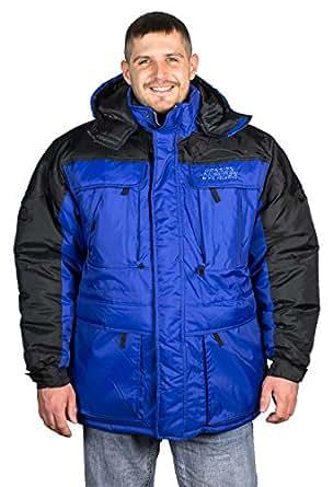 Freeze Defense Men's 3-in-1 Winter Jacket Coat w/ Vest at