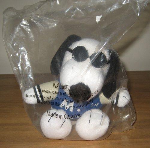 "Met Life Joe Cool Snoopy 5"" Plush Animal - 1"