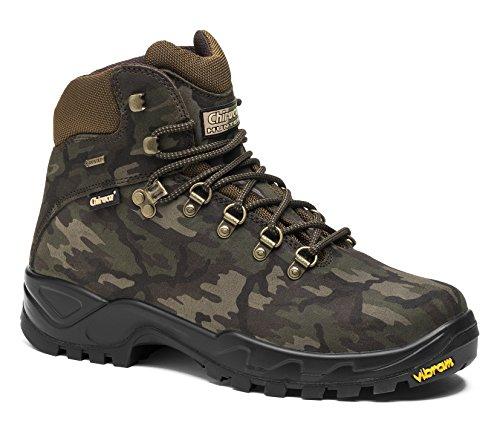 CHIRUCA ,  Scarpe da camminata ed escursionismo uomo verde Size: 47