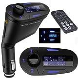 車用 MP3プレーヤー FMトランスミッター 操作は簡単! ブル