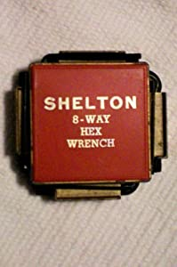 Vintage Shelton 8-Way Hex Wrench