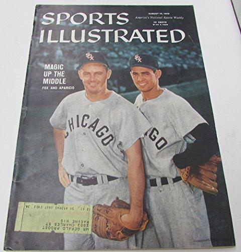1959 Sports Illustrated Nellie Fox Luis Aparicio White Sox 8/10/59 Ex 19534 (Fox Headline compare prices)