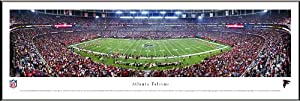 ATLANTA FALCONS - GEORGIA DOME - NFL PANORAMA POSTER PRINT FRAMED by Blakeway Worldwide Panoramas