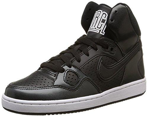 Nike Wmns Son Of Force Mid, Scarpe sportive, Donna, Multicolore (Black/Black-White-Black), 38