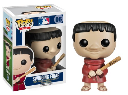 Funko Pop! Major League Baseball: Swinging Friar Vinyl Figure - 1