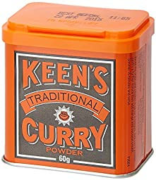 Keen\'s Traditional Curry Powder 60g.