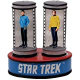 Westland Giftware Star Trek Magnetic Ceramic Salt & Pepper Shaker Set, Multicolor