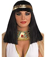 Cleopatra Wig With Headband - Adult Std.