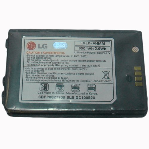 LG enV3 enV 3 VX9200 Blue Battery LGLP-AHMM 950mAh