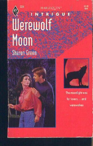 Image for Werewolf Moon (Harlequin Intrigue, No 224)