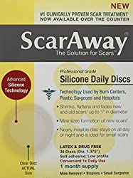 ScarAway Silicone Daily Discs Bandages 30 Count