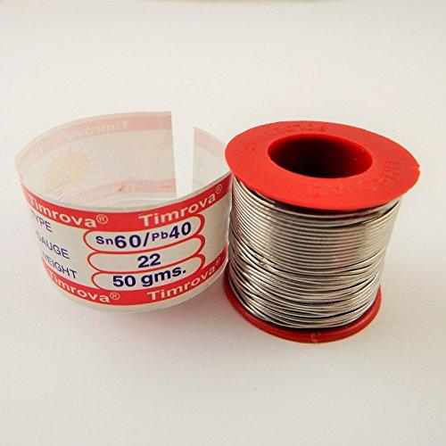 fil-a-souder-etain-plomb-60-40-2-flux-de-soudure-fer-22-calibre-50-grammes-poids