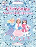 Christmas Sticker Dolly Dressing [With Stickers] (Usborne Activities)