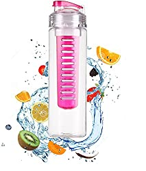 Fruit Infuser Water Bottle, 700 ml (Color May Vary)
