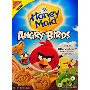 Nabisco, Honey Maid, Angry Birds Honey Grahams, 13oz Box