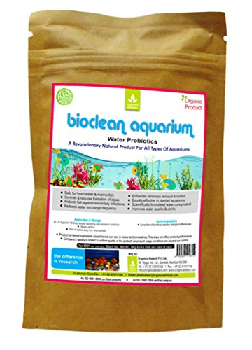 Aquarium Cleaner-100% NON TOXIC Best Organic Water Conditioner- for Fish Care & Planted Aquarium - Maintains excellent water quality and keeps clean