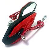 (maxima★select) バイクミラー カスタム ウイング ミラー 汎用 正ネジ 8mm カワサキ ホンダ スズキ など 外装 カスタム に