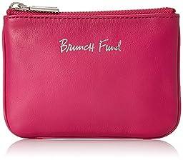 Rebecca Minkoff Cory Pouch Brunch Fund Wallet, Magenta, One Size
