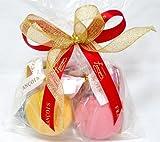 天使のマカロン 2個入w プチギフト 手土産 1個毎にリボン付き ギフト スイーツ ハロウィン お菓子 詰め合わせ