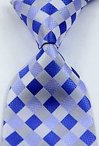 romario-groomsmen-jds2186-novelty-checks-blue-white-gray-jacquard-woven-mens-tie-008