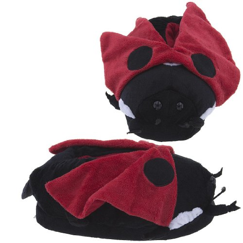 Cheap Lady Bug Slippers for Women and Men (B007XKSMZ0)