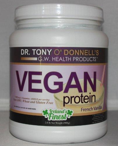 Dr. Tony'S Vegan Protein - French Vanilla