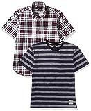 (カンサイヤマモトオム)KANSAI YAMAMOTO HOMME Tシャツ、半袖シャツカジュアル2点セット 564-2P-B  マルチ L