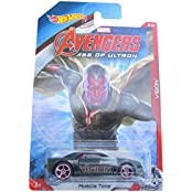 HOT WHEELS MARVEL AVENGERS AGE OF ULTRON VISION MUSCLE TONE 5/8