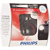 Philips 9008XVS2 X-Treme Vision Headlight Bulb, (Pack of 2)