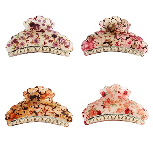 gsm-accessories-4-pcs-womens-floral-print-large-size-golden-acrylic-hair-claws-hc013x4